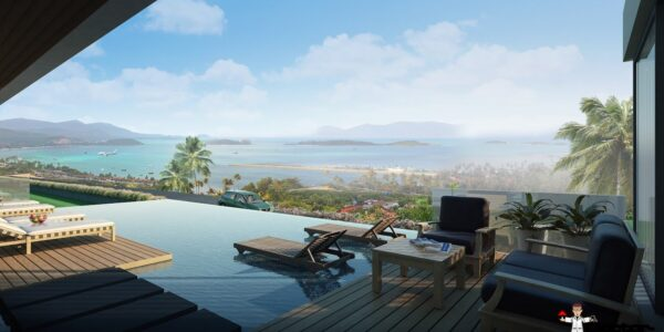 3 Bedroom Pool Villas with Sea Views - Big Buddha, Koh Samui - For Sale - Doctor Property Real Estate
