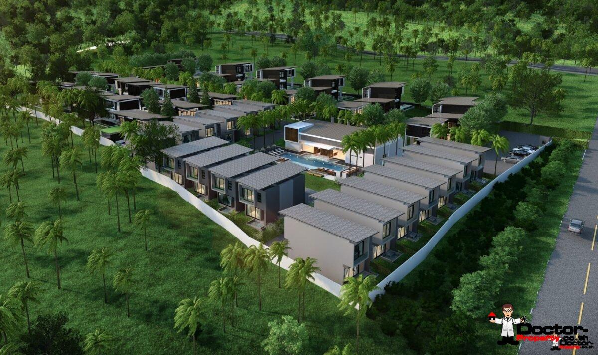 New 2 Bedroom House near Golf Course - Mae Nam, Koh Samui - For Sale