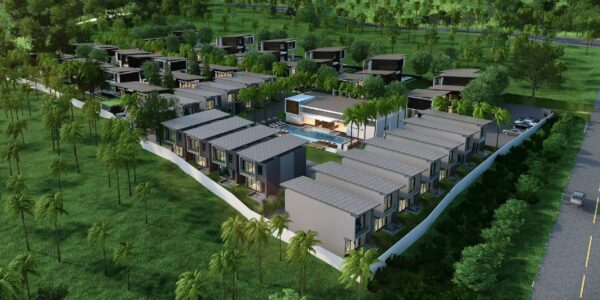 New 2 Bedroom House near Golf Course - Mae Nam, Koh Samui - For Sale