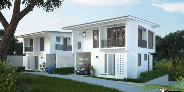 New 3 Bedroom Houses - Bang Rak, Koh Samui - For Sale