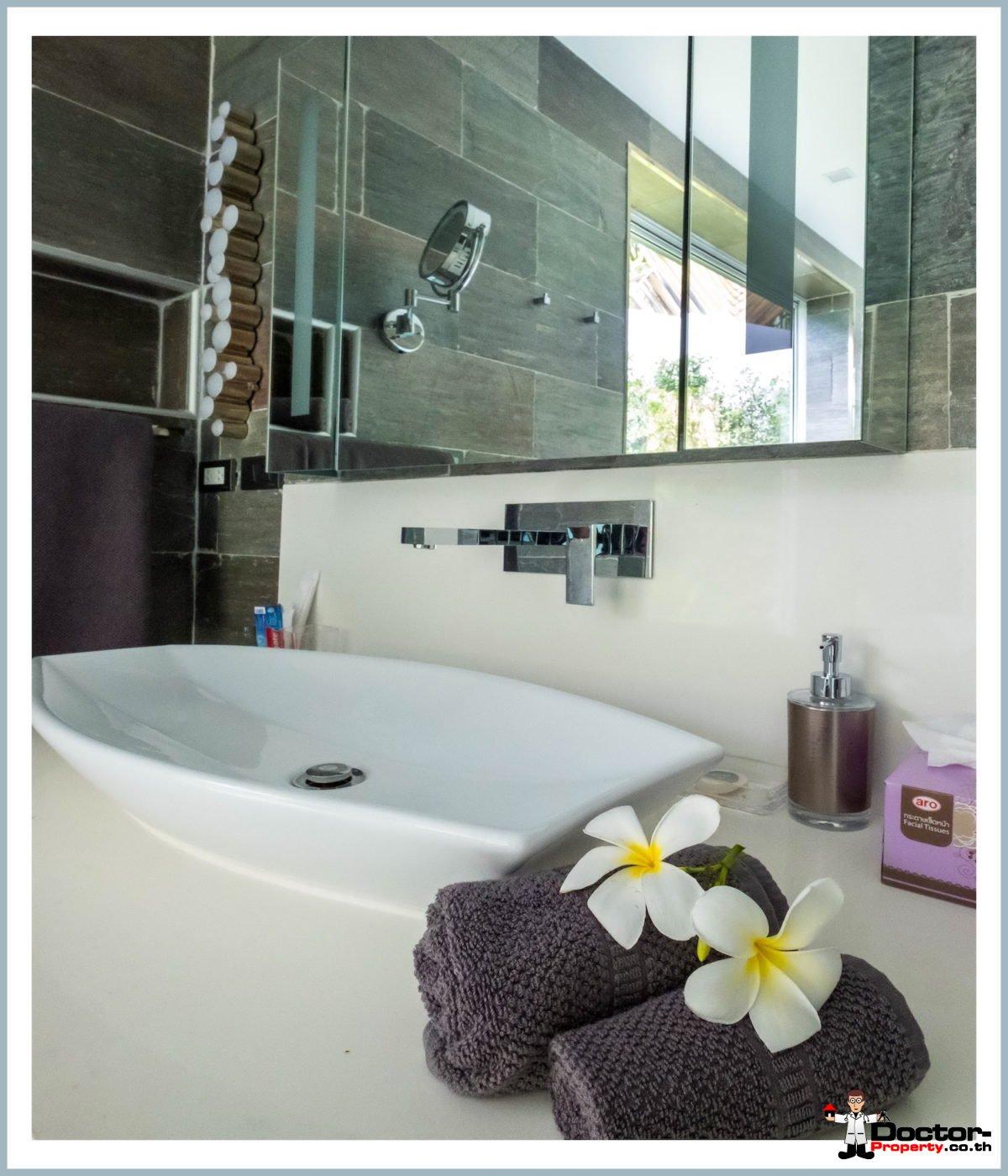 Stunning 4 Bedroom Pool Villa with Seaview- Mae Nam, Koh Samui - For Sale