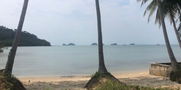 0.75 Rai of Beachfront Land - Taling Ngam, Koh Samui - For Sale