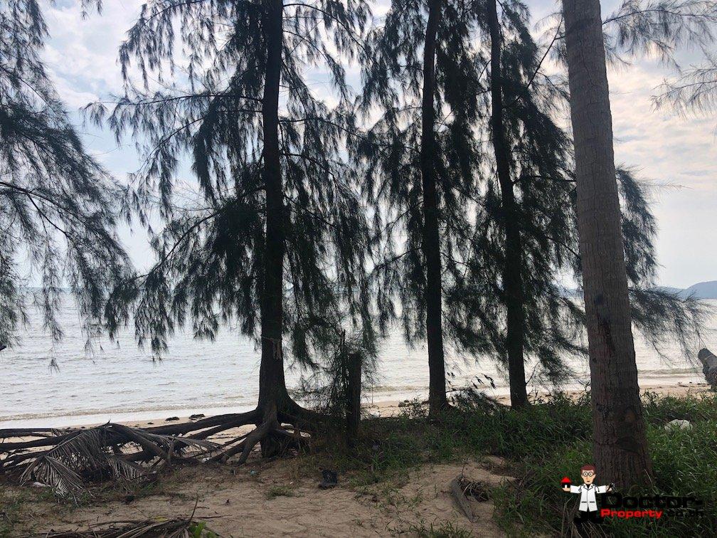 0.53 Rai Beachfront Land - Laem Set, Koh Samui - For Sale - Doctor Property Real Estate