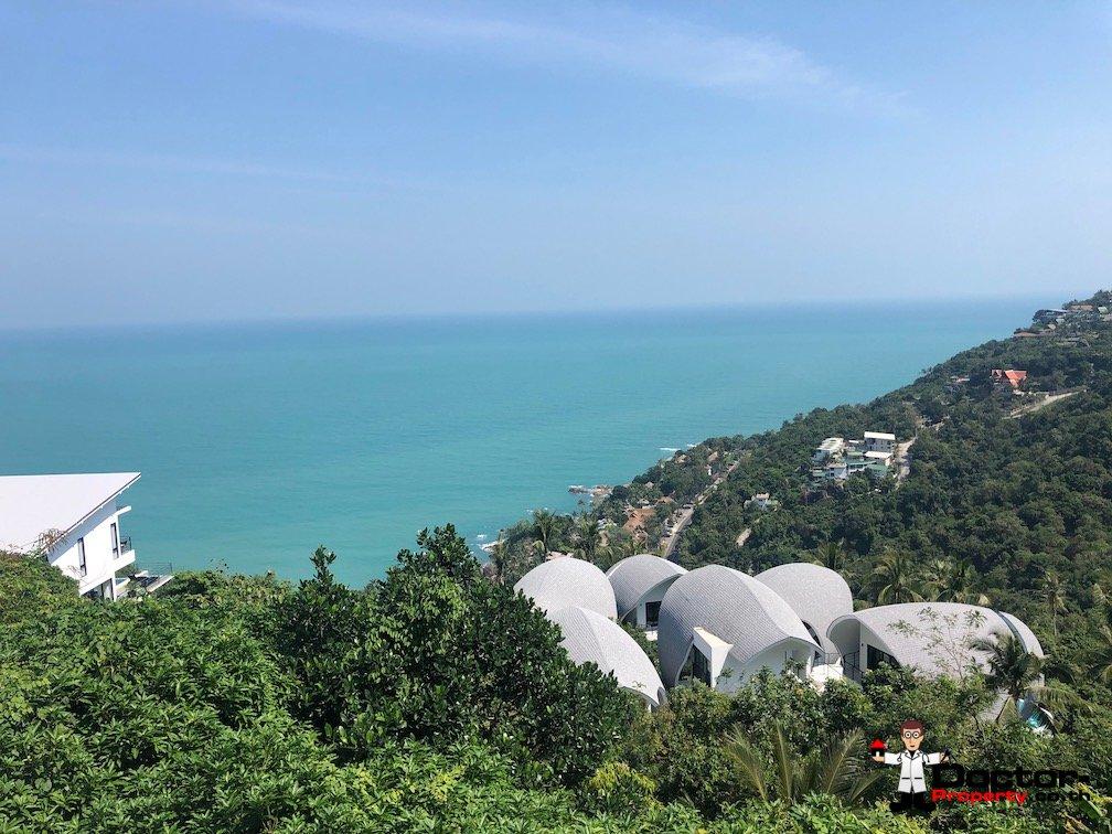 0.5 Rai of Seaview Land - Chaweng Noi, Koh Samui - For Sale