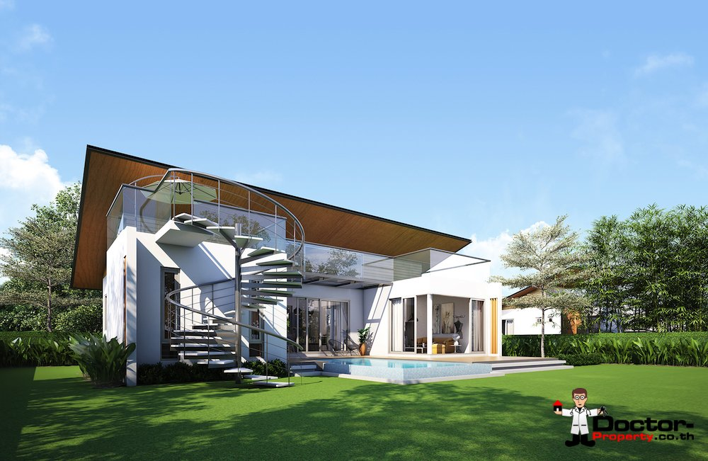 New 2 Bedroom Pool Villas - Na Mueang, Koh Samui - For Sale - Doctor Property Real Estate