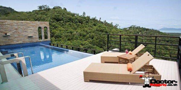 3 Bedroom Villa with Sea View in Mae Nam - Koh Samui - for sale