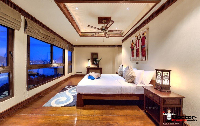 Beachside 5-Bedroom Sea View Villa - Bang Rak - Koh Samui - for sale