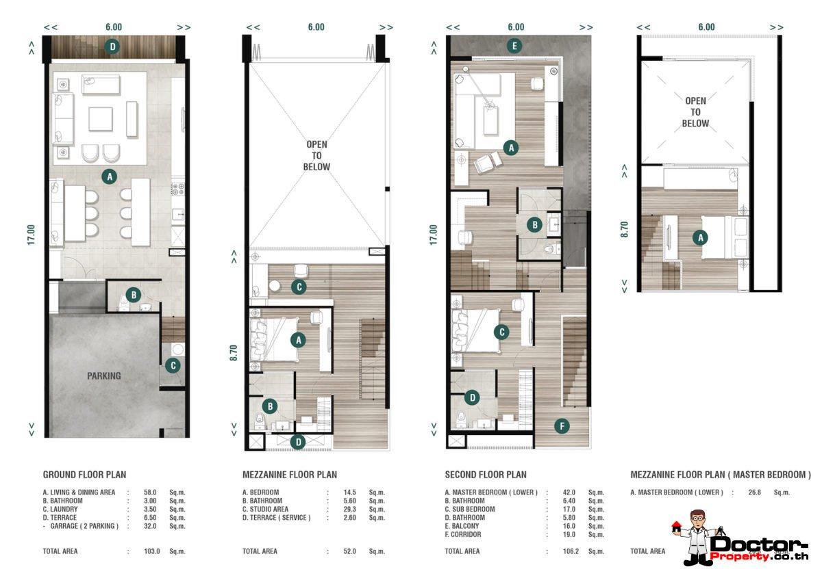 Corner Unit Plan