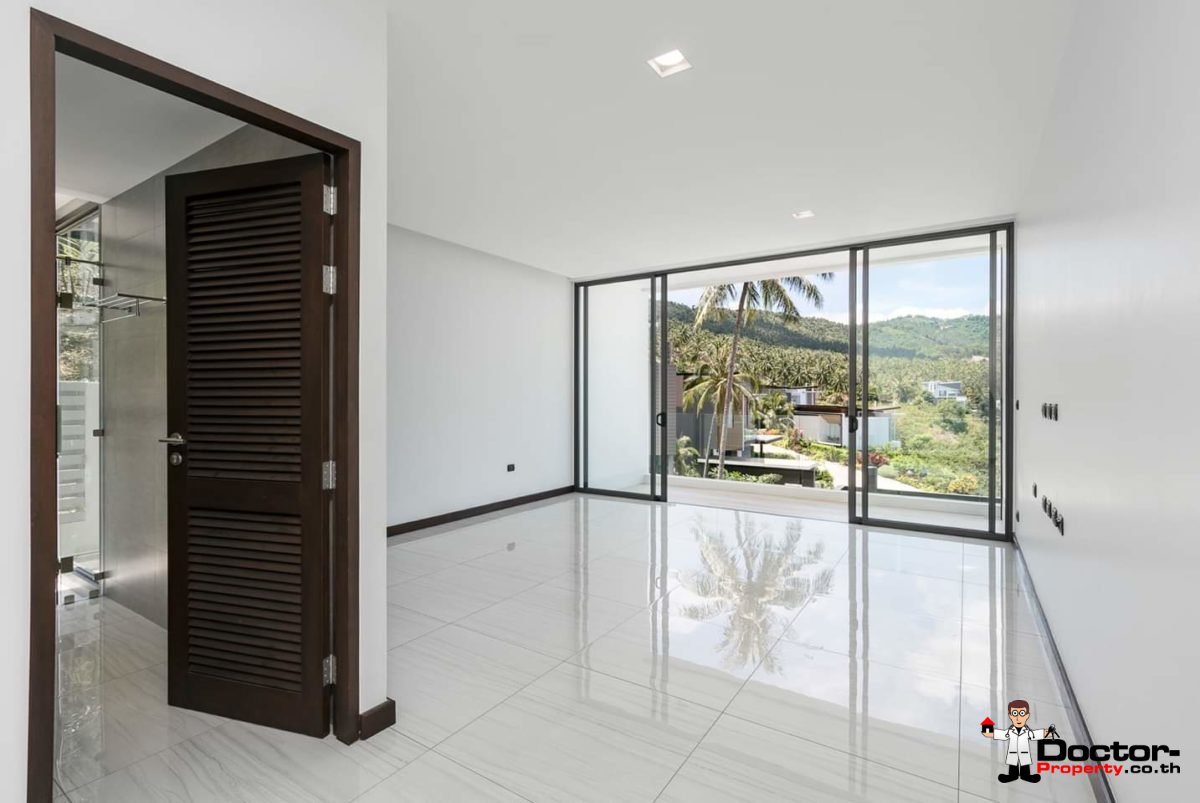 New 4 Bedroom Villa with amazing Sea View in Chaweng Noi - Koh Samui - for sale 12