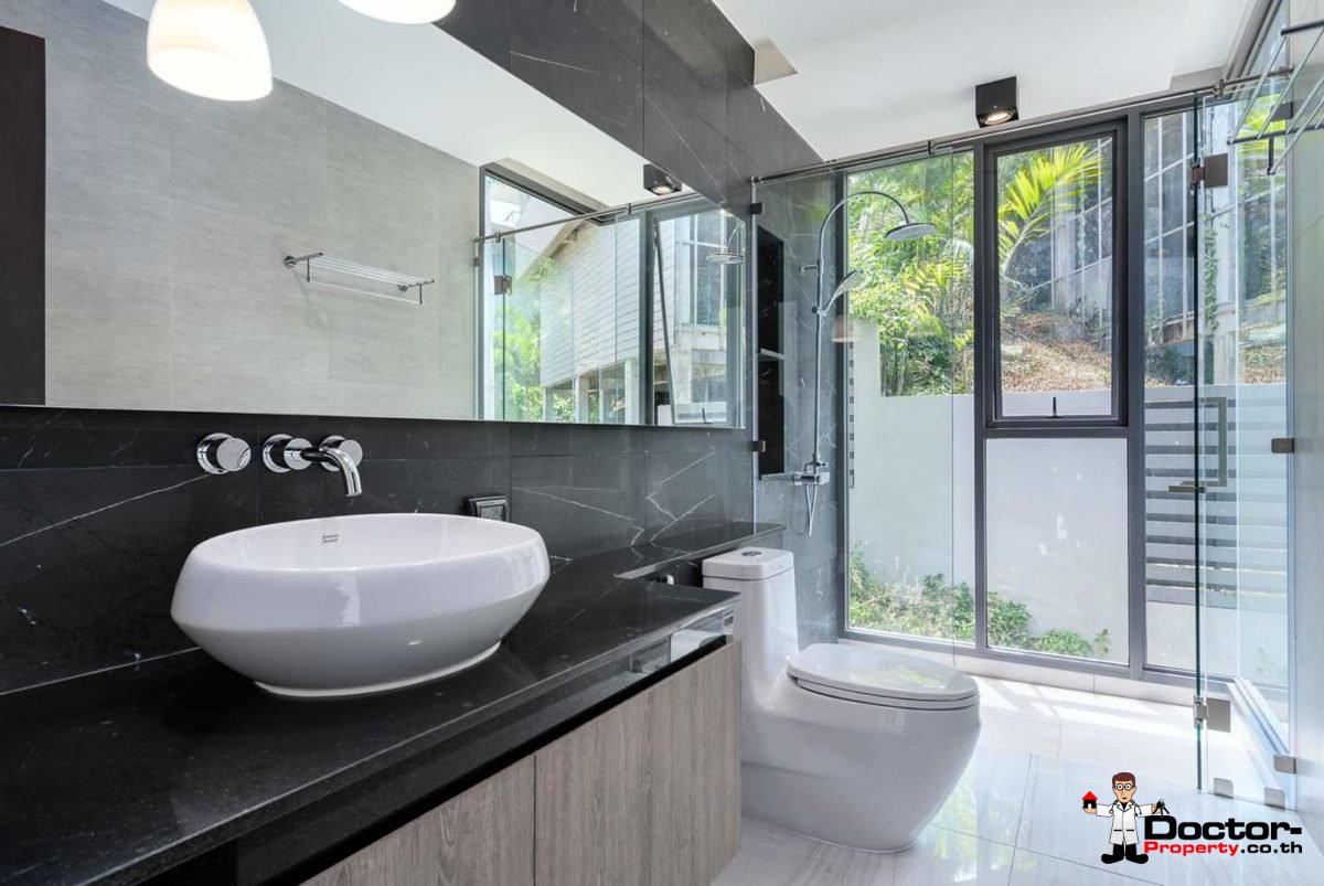 New 4 Bedroom Villa with amazing Sea View in Chaweng Noi - Koh Samui - for sale 15