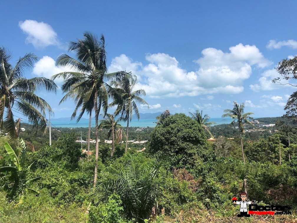 2 Rai of Seaview Land - Bo Phut, Koh Samui - For Sale