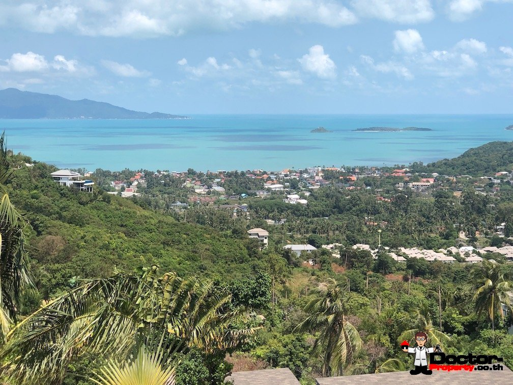 1 Rai of Panoramic Seaview Land - Bo Phut, Koh Samui - For Sale