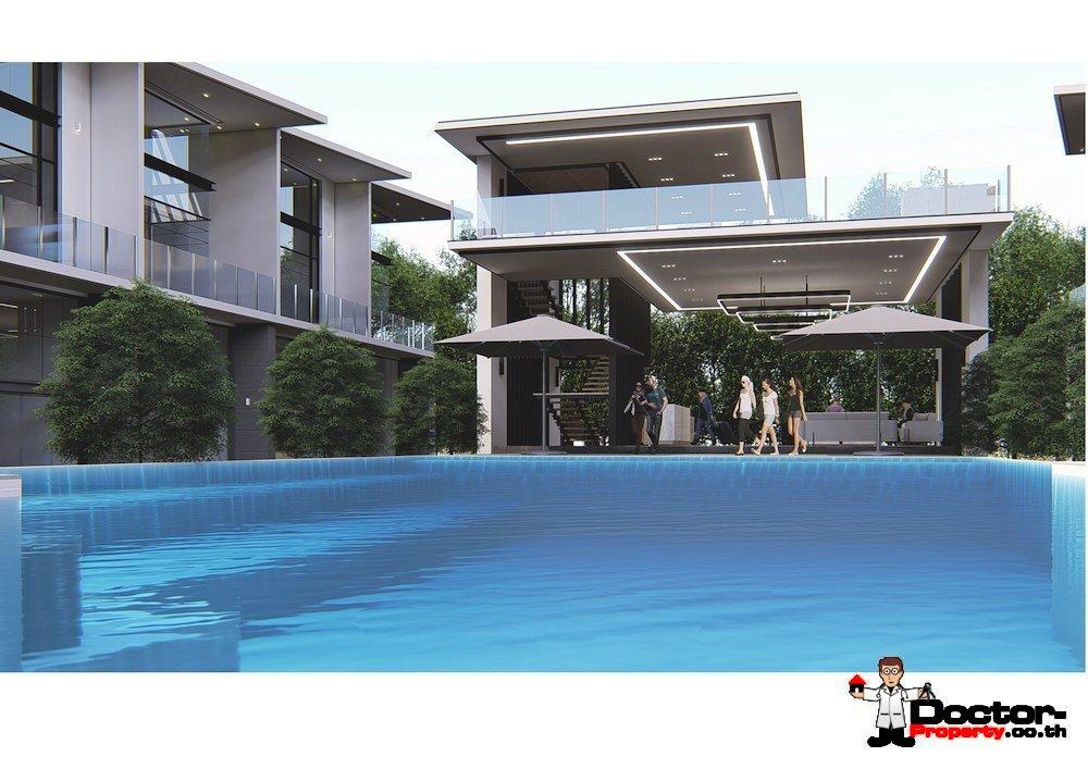 New 3 Bedroom Townhouse - Bang Rak, Koh Samui - For Sale