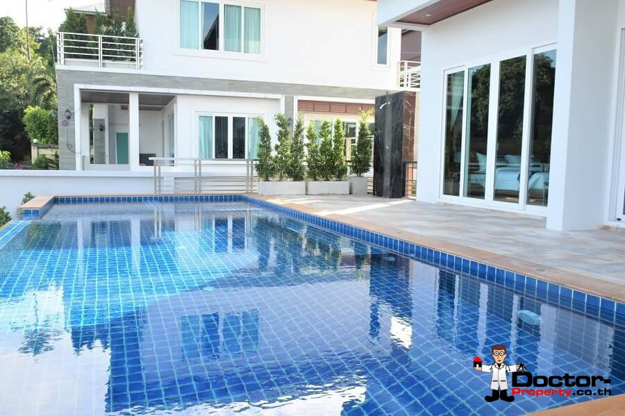 4 Bedroom Pool Villa With Sea View - Chaweng Noi, Koh Samui - For Sale