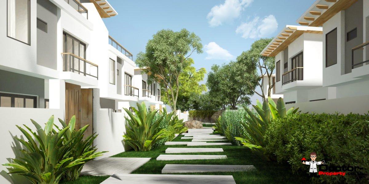 New 4 bedroom Pool Villas with Sea View in Plai Laem - Koh Samui