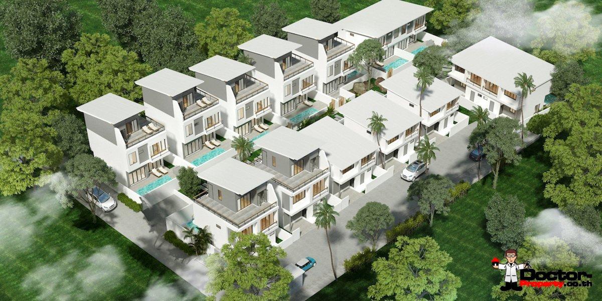 New 3 bedroom Pool Villas in Plai Laem - Koh Samui