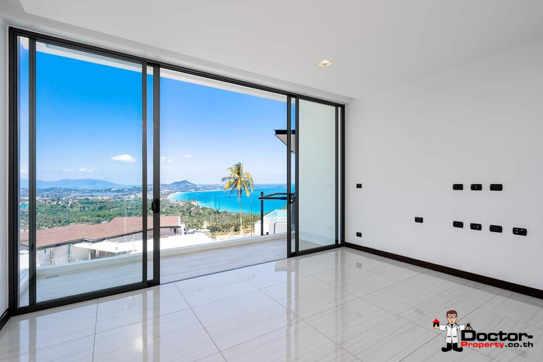 New 4 Bedroom Villa with amazing Sea View in Chaweng Noi - Koh Samui - for sale 20