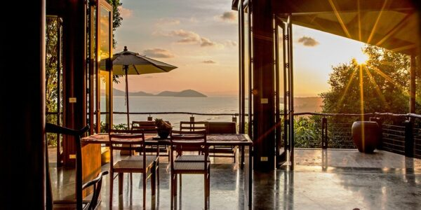 3 Bedroom Pool Villa with Seaview in Laem Set, Koh Samui - For Sale