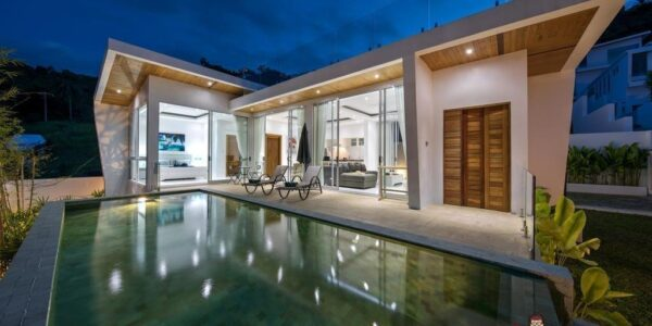 2 Bedroom Villa With Sea Views - Chaweng Hillside, Koh Samui - For Sale