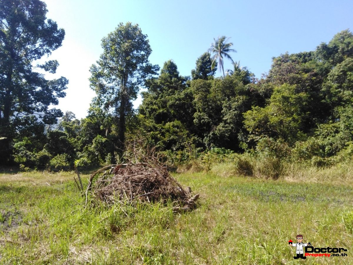 0.6 Rai of Mountain View Land - Laem Set - Koh Samui -For Sale