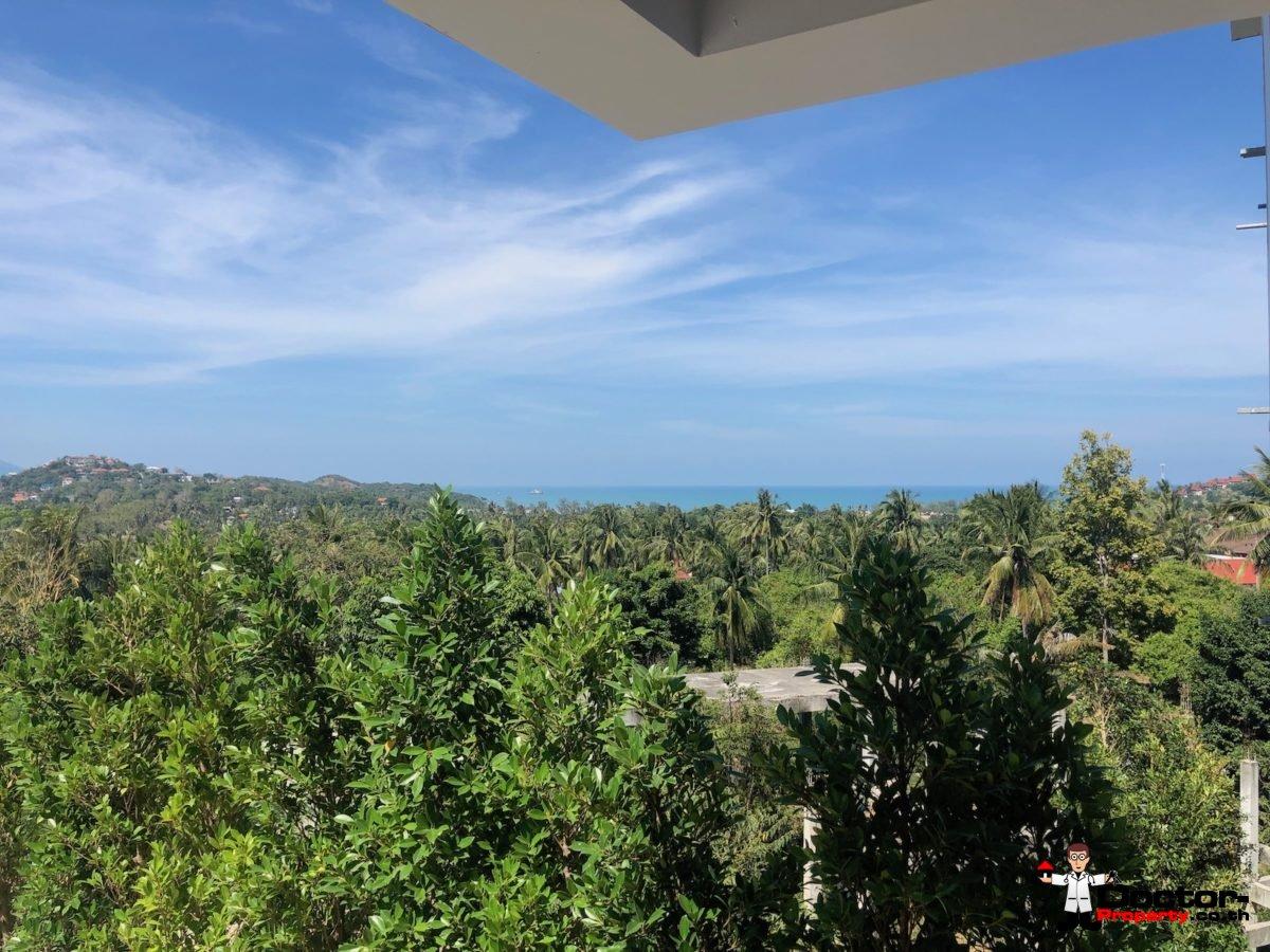 New Furnished 4 Bed Pool Villa, Sea Views - Plai Laem, Koh Samui - For Sale