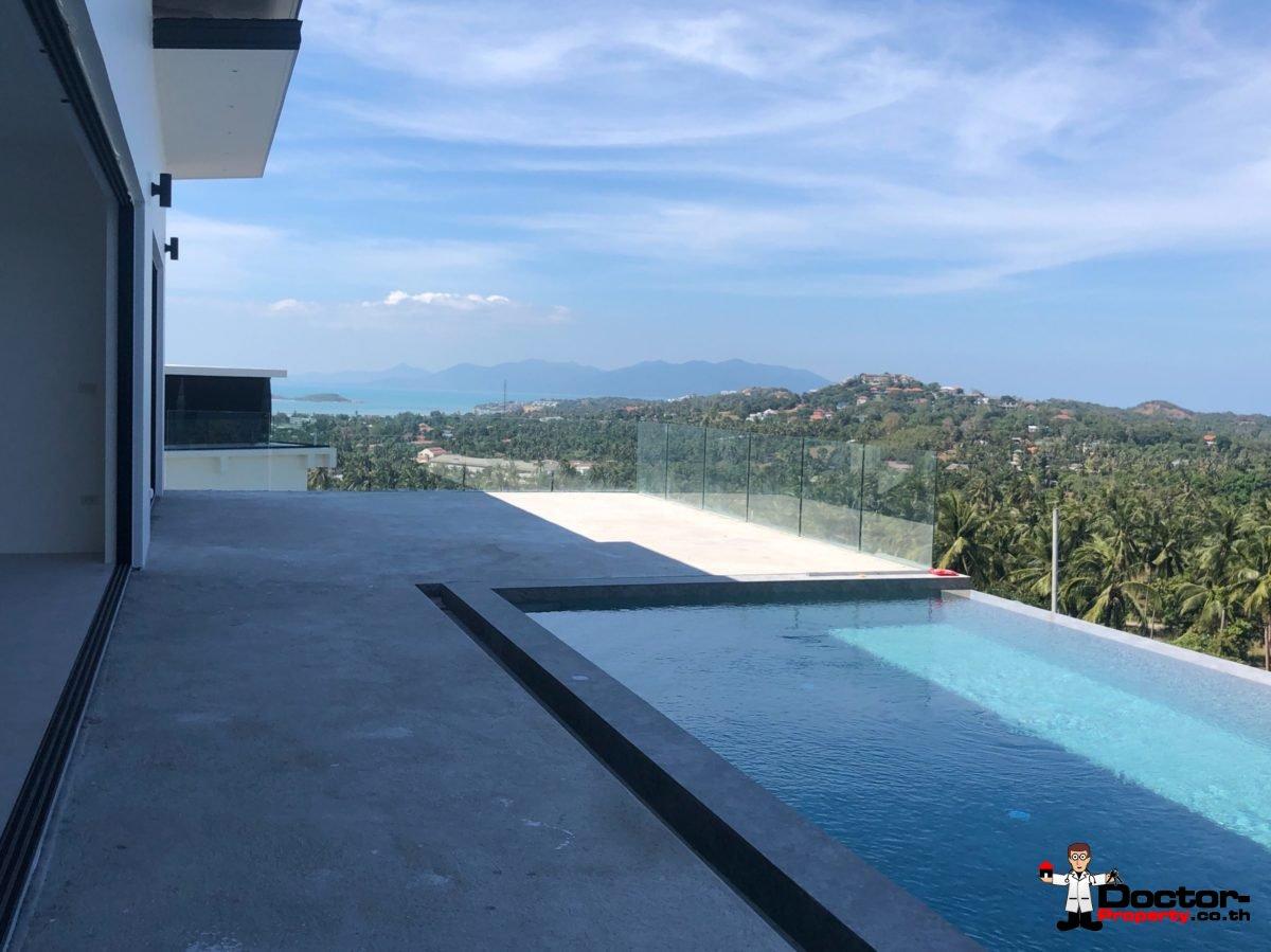 New Furnished 4 Bed Pool Villa, Sea Views - Plai Laem, Koh Samui - For SaleNew Furnished 4 Bed Pool Villa, Sea Views - Plai Laem, Koh Samui - For Sale