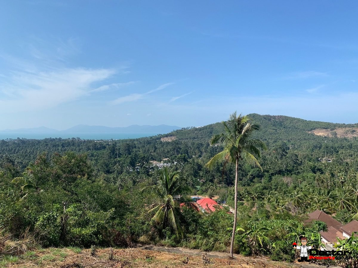 1 Rai of Seaview Land - Mae Nam, Koh Samui - For Sale