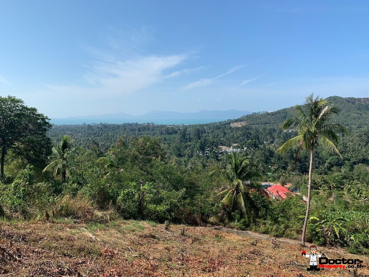 1 Rai of Seaview Land - Mae Nam, Koh Samui - For Sale