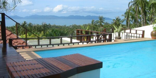 2 Bedroom Wooden Pool Villa, with Sea View - Bang Por, Koh Samui - For Sale