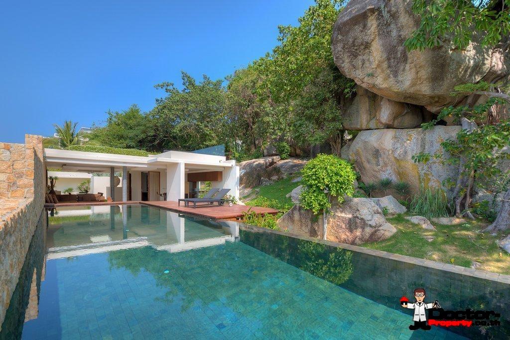 3 Bedroom Luxury Pool Villa, Choeng Mon, Koh Samui — For Sale