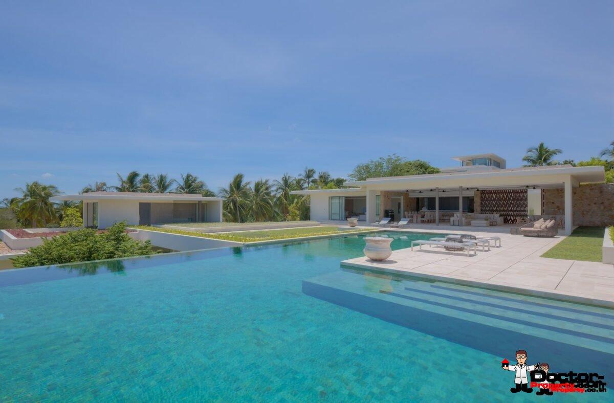 New Luxury 6 Bedroom Villa - Choeng Mon, Koh Samui, For Sale