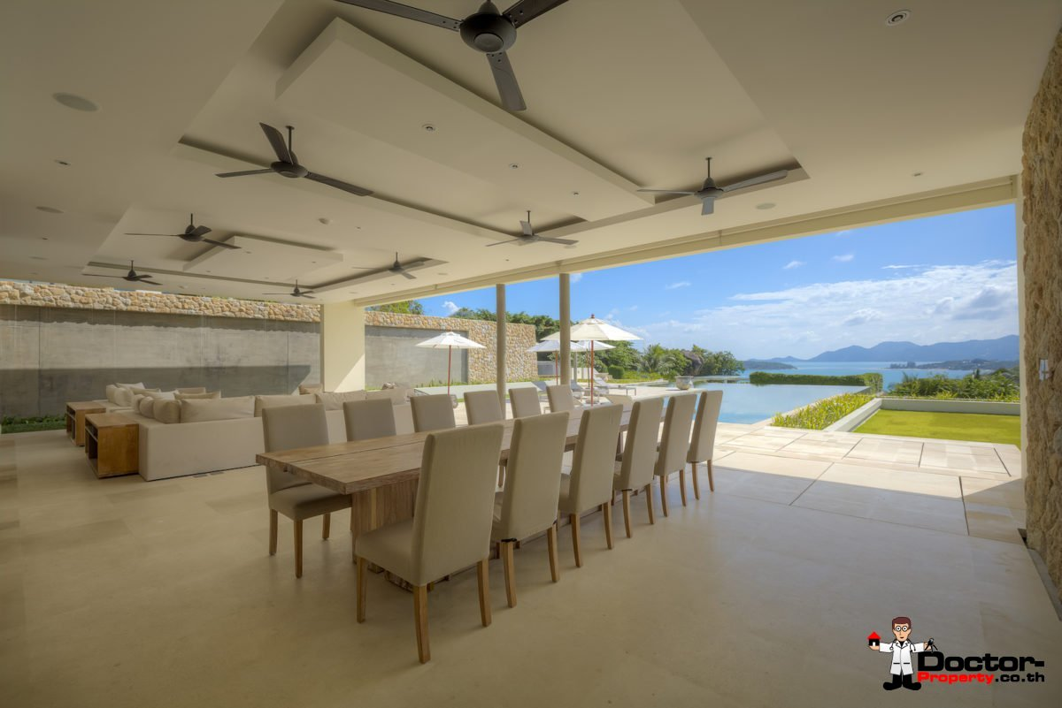 New Luxury 6 Bedroom Villa - Choeng Mon, Koh Samui, For Sale