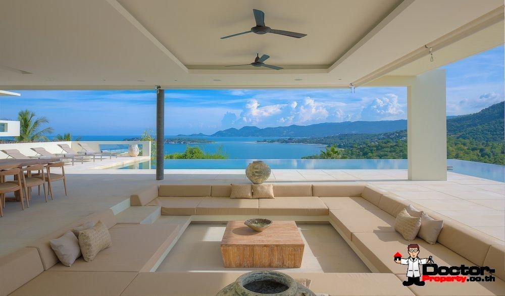 4 Schlafzimmer Luxus Pool Villa – Choeng Mon, Koh Samui – zu ...