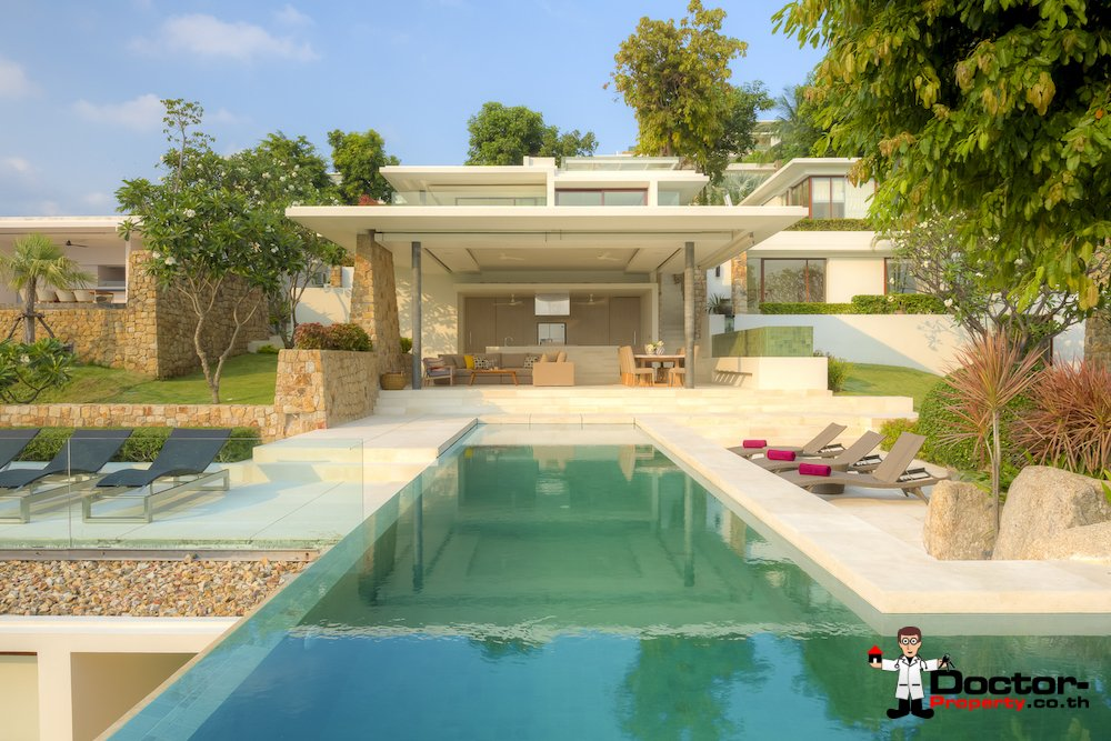 5 Bedroom Luxury Villa - Choeng Mon, Koh Samui - For Sale