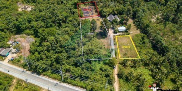0.6 Rai of Mountain View Land - Laem Set - Koh Samui -For Sale