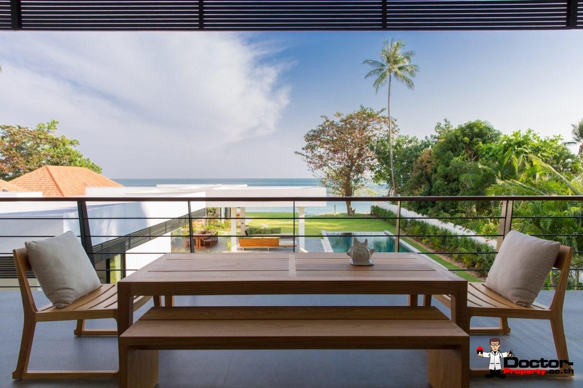 7 Bedroom Luxury Beachfront Villa - Laem Sor, Koh Samui - For Sale