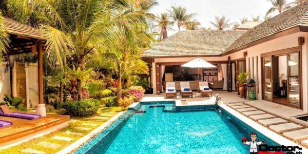 3 Bedroom Pool Villa - Hua Thanon, Koh Samui - For Sale