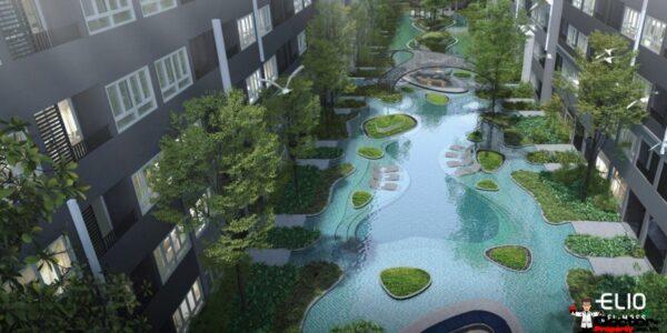 Apartment_for_sale_ Elio_Del_Moss_Paholyothin_Bangkok_pool