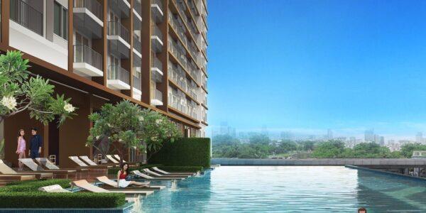 Apartment_for_sale_Bangkok_ Suburban_ The_Posh_Twelve_Pool