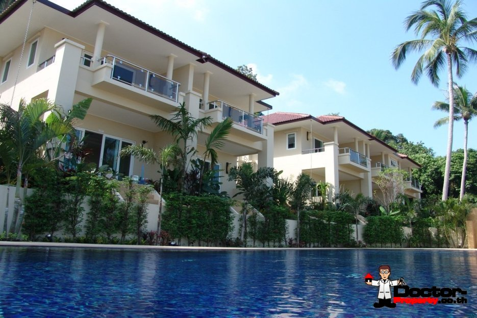 2 Bedroom House with Sea Views - Bang Por, Koh Samui - For Sale