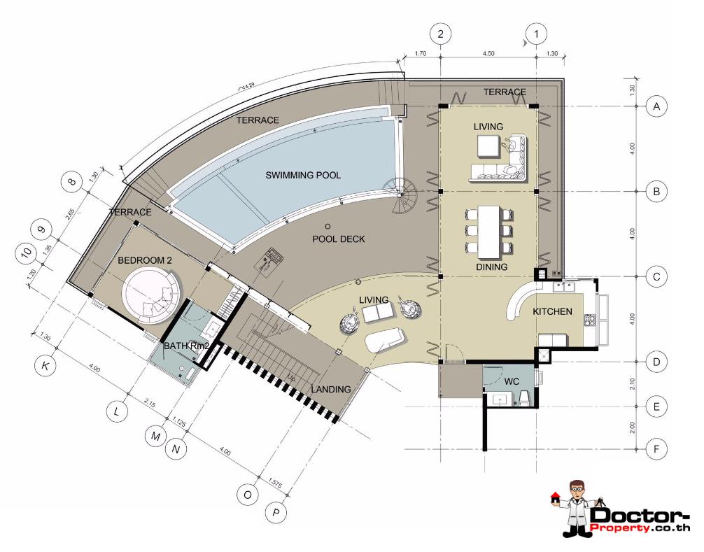 Pool, Living Floor