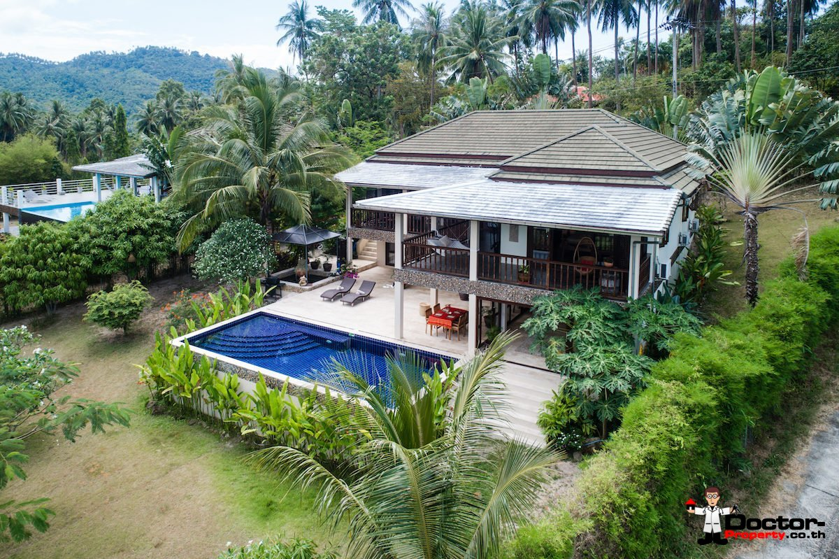 4 Bedroom Villa on 1 Rai Land - Taling Ngam, Koh Samui - For Sale