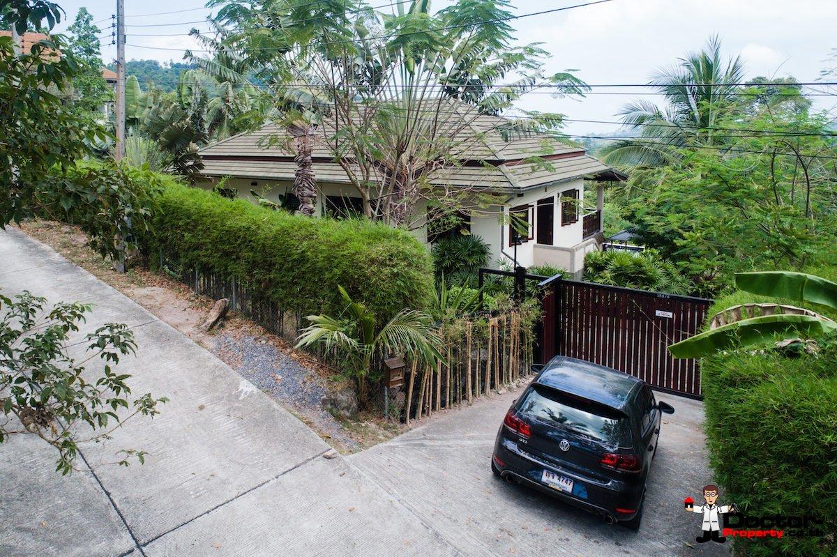 4 Bedroom Villa on 1 Rai Land - Taling Ngam, Koh Samui - For Sale
