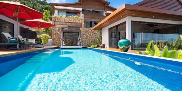 Stunning Villa with Panoramic Views and Infinity Pool - Bo Phut, Koh Samui - For Sale