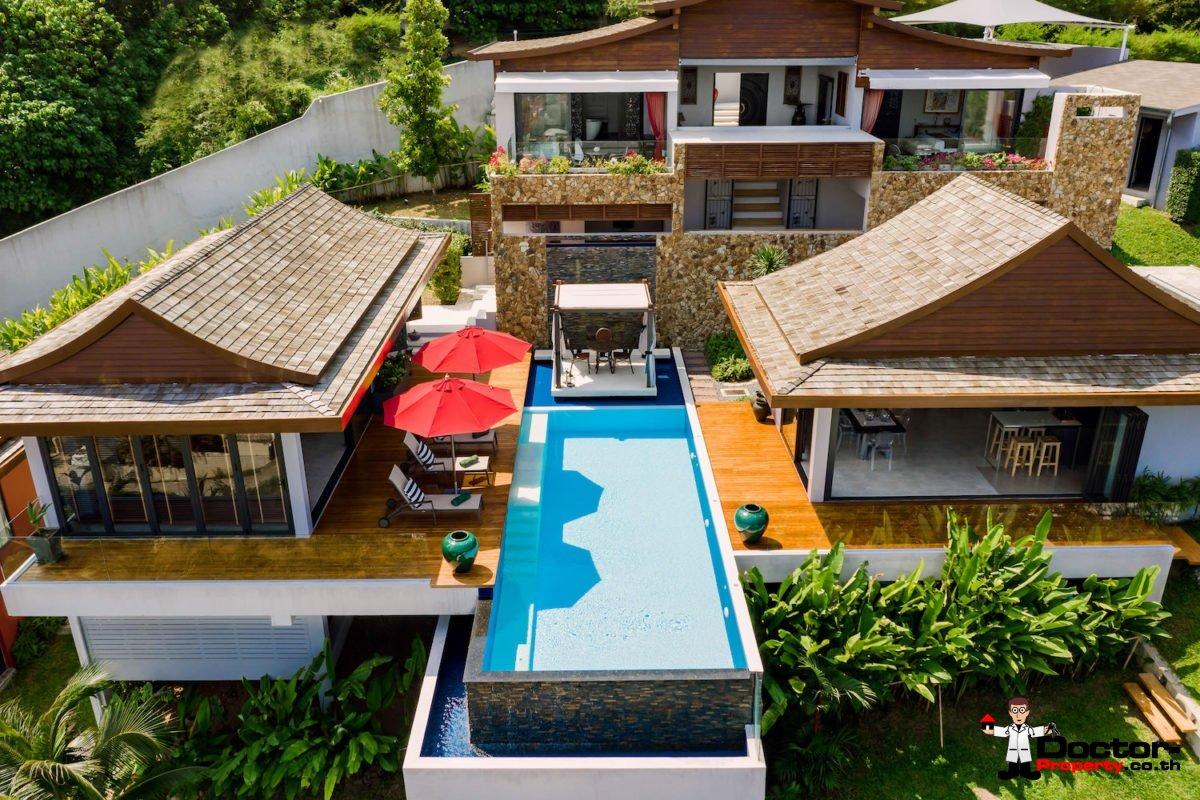 Stunning Villa with Panoramic Views and Infinity Pool - Bo Phut, Koh Samui - For Sale