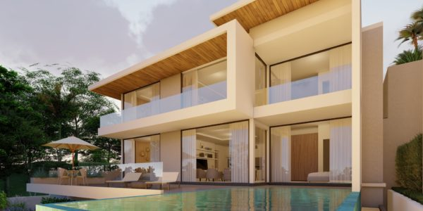 3 & 6 Bed Pool Villas with Sea views - Bo Phut, Koh Samui - For Sale