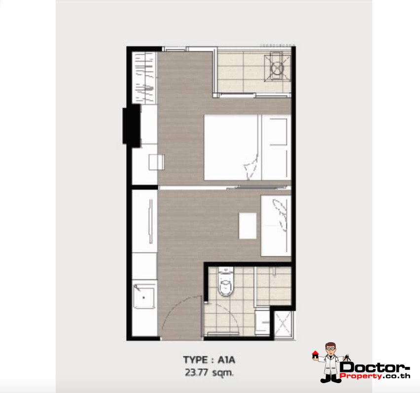 Apartment_for_sale_ Kave_Town_Space_Bangkok_floorplan