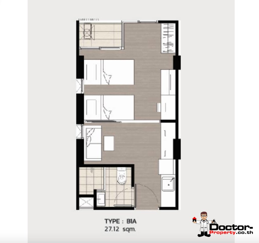Apartment_for_sale_ Kave_Town_Space_Bangkok_floorplan1