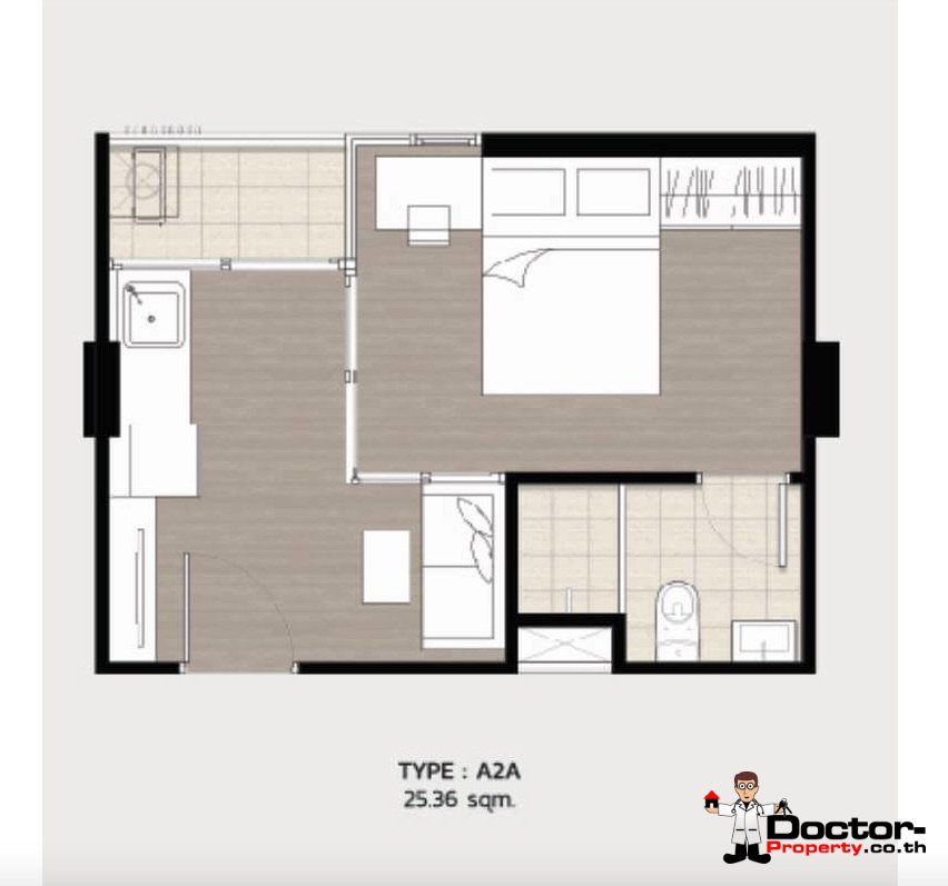 Apartment_for_sale_ Kave_Town_Space_Bangkok_floorplan2