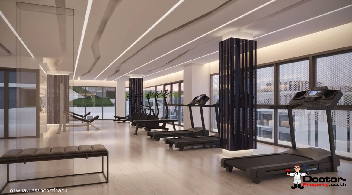 Apartment_for_sale_ Kave_Town_Space_Bangkok_gym